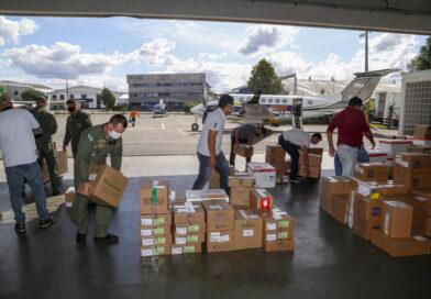 Paraná envia maior quantitativo de insumos em 24h desde o início da pandemia