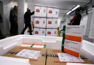 Saúde recebe mais doses e começa a distribuir 377,5 mil vacinas nesta quarta; veja divisão