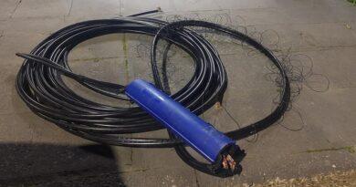 Em pouco mais de 24 horas, Guarda Municipal de Araucária faz duas prisões por furto de cabos de telefonia