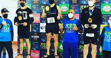 Equipe Top Brands de corrida fez bonito em Rio Branco do Sul