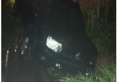Carro roubado é recuperado pela Polícia Militar nesta Segunda Feira